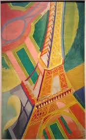 modern paint robert dulaney eiffle tower art google search art pinterest