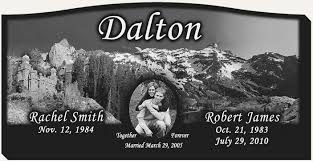 headstone engraving laser engraved headstones by dalton s memorial engraving utah