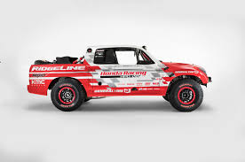 rc baja truck styling of 2017 ridgeline hinted by 550hp baja race truck concept