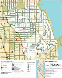 Seattle Bus Route Map by Seattle Releases Unique Walking And Biking Maps For Each Public