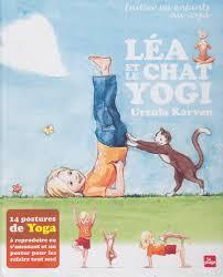 poster pour enfant léa ou le chat yogi un chouette livre pour initier les enfants au