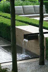 modern water features laurent perrier garden at chelsea water rill water feature modern