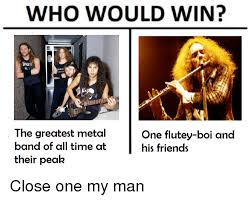 Metal Band Memes - who would win the greatest metal band of all time at their peak