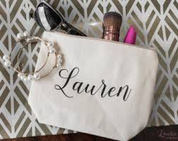 bridal party makeup bags bridesmaids gifts etsy