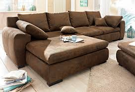 home affair sofa home affaire polsterecke cara wahlweise mit bettfunktion