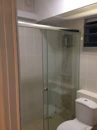 sliding shower screen intradesign my bto hdb home renovation