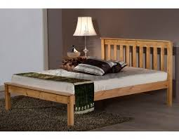 Small King Size Bed Frame by Wooden Double Bed Crowdbuild For