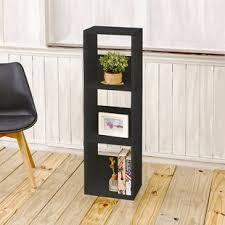 3 shelf narrow bookcase small narrow bookcase wayfair