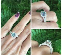 black opal engagement rings black opal engagement ring 7mm black opal triplet ring
