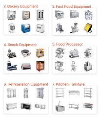 kitchen furniture list hotel kitchen equipment list wonderful fromgentogen us