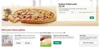 papa cuisine review papa s arabian pulled pizza