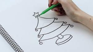 l shade from a christmas story how to draw christmas trees with pictures wikihow