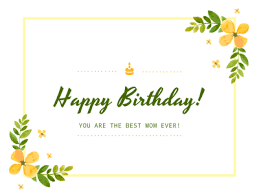happy birthday to mom fotor photo cards free online photo card