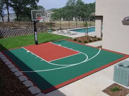 home basketball court design backyard basketball courts in unique