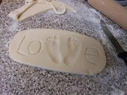 salt dough keepsakes a wonderful idea to preserve bits of your