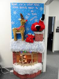Cubicle Decorating Contest Ideas Christmas Office Door Decorations Wow Factor For Cubicle