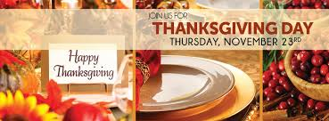 thanksgiving day chagne buffet