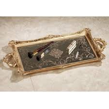 Mirrored Glass Vanity Styles Exciting Mirrored Vanity Tray For Inspiring Elegant Tray