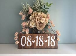 save the date signs engagement photo save the date sign wedding date sign rustic
