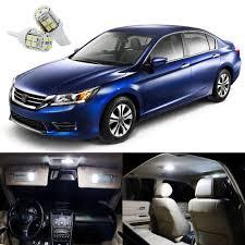 cars honda accord 14 x xenon white led interior lights package kit for honda accord