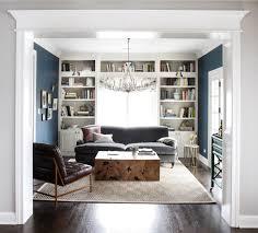 bookshelves around a window window hague blue and interiors
