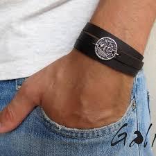 leather bracelet man images Men 39 s bracelet men 39 s leather bracelet men 39 s coin necklace jpg