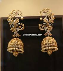 gold earring design with price antique gold lakshmi jhumkas online gold jewellery marcasite