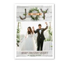 newlywed cards wedding photo christmas cards new traditions with shutterfly