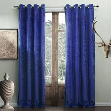 Bright Blue Curtains Decoration Bright Blue Curtains Curtain Royal Grommet Bright