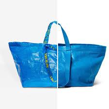 cómo puedes asistir a ikea maras con un presupuesto mínimo zara también copia la famosa bolsa azul de ikea