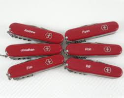 personalized swiss army knife dlt trading engraved knives by dlttrading on etsy