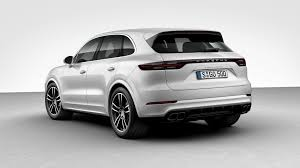 porsche suv 2015 price most expensive 2019 porsche cayenne turbo costs 166 310