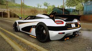 koenigsegg winter koenigsegg agera rs v3 for gta san andreas