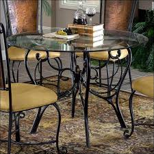 Round White Kitchen Table Iron by Kitchen Round Table And Chairs Wrought Iron Patio Furniture Wood