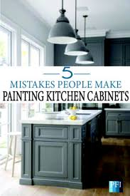 how to remove polyurethane from kitchen cabinets painted furniture ideas 5 mistakes make when