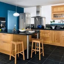 cuisine bois plan de travail noir cuisine bois plan de travail noir cuisine meuble noir et plan de