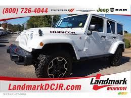 rubicon jeep white 2016 bright white jeep wrangler unlimited rubicon hard rock 4x4