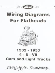 wiring diagrams for ford flatheads 4 6 v8 1932 1953 david