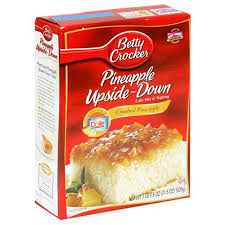 betty crocker pineapple upside down cake mix 21 5 ounce boxes