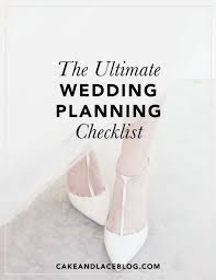 ultimate wedding planner the ultimate wedding planning checklist cake lace wedding