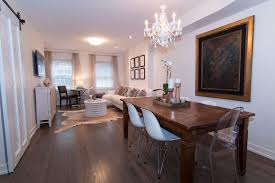 Transitional Dining Rooms Dining Room With High Ceiling U0026 Hardwood Floors In Chicago Il