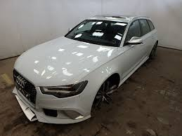 damaged audi for sale 2014 audi rs6 tfsi v for sale at copart uk salvage car auctions