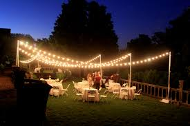 backyard lights ideas house design and planning