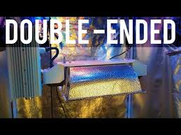 grow lights double ended review double ended de hps grow light vs single ended bulbs for