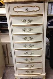 Painting French Provincial Bedroom Furniture by Painted Furniture French Provincial Lingerie Chest Hand Painted