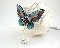 blue black butterfly etsy