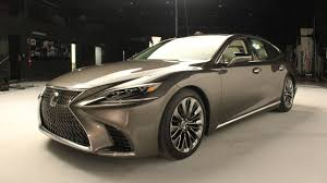 lexus luxury sedan 2018 lexus ls review amazing luxury sedan youtube