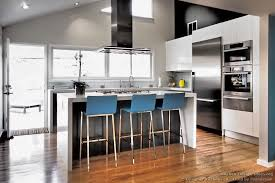 Kitchen Design Principles Balance Scale Amp Focus In Kitchens - kitchen cabinets modern two tone 298a dkl009 black white vaulted ceiling island wood floor jpg