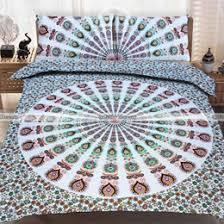 queen mandala bedding and cotton duvet covers fairdecor com