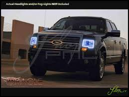 Ford Raptor Accessories - oracle 09 14 ford svt raptor w o pro led halo rings headlights bulbs